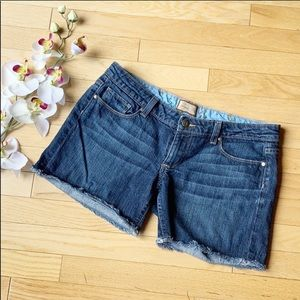 PAIGE jeans shorts size 27 Jimmy Jimmy blue denim